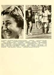 Page 11, 1974 Edition, Agnes Scott College - Silhouette Yearbook (Decatur, GA) online yearbook collection