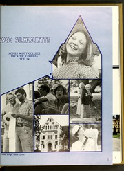 Page 5, 1981 Edition, Agnes Scott College - Silhouette Yearbook (Decatur, GA) online yearbook collection