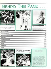 Page 5, 1982 Edition, Agnes Scott College - Silhouette Yearbook (Decatur, GA) online yearbook collection