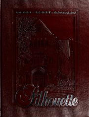 1986 Edition, Agnes Scott College - Silhouette Yearbook (Decatur, GA)