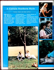 Page 16, 1986 Edition, Agnes Scott College - Silhouette Yearbook (Decatur, GA) online yearbook collection