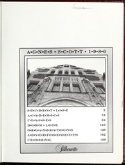 Page 3, 1986 Edition, Agnes Scott College - Silhouette Yearbook (Decatur, GA) online yearbook collection