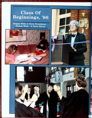 Page 8, 1986 Edition, Agnes Scott College - Silhouette Yearbook (Decatur, GA) online yearbook collection