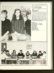 Page 99, 1988 Edition, Agnes Scott College - Silhouette Yearbook (Decatur, GA) online yearbook collection