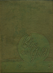 1949 Edition, Pryor High School - Blue and Gold Yearbook (Pryor, OK)