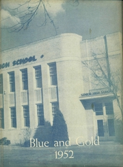 1952 Edition, Pryor High School - Blue and Gold Yearbook (Pryor, OK)
