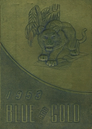 1953 Edition, Pryor High School - Blue and Gold Yearbook (Pryor, OK)