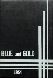1954 Edition, Pryor High School - Blue and Gold Yearbook (Pryor, OK)