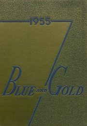 1955 Edition, Pryor High School - Blue and Gold Yearbook (Pryor, OK)