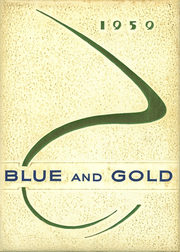 1959 Edition, Pryor High School - Blue and Gold Yearbook (Pryor, OK)