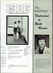 Page 3, 1986 Edition, Mulhall Orlando High School - Panther Yearbook (Orlando, OK) online yearbook collection