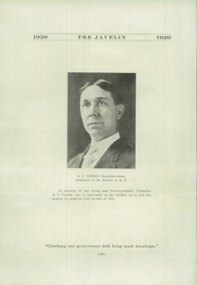 Page 10, 1920 Edition, Yukon High School - Miller Yearbook (Yukon, OK) online yearbook collection