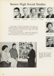 Page 34, 1962 Edition, Edison High School - Torch Yearbook (Tulsa, OK) online yearbook collection