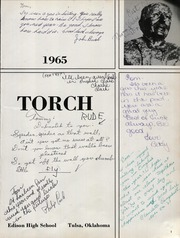 Page 5, 1965 Edition, Edison High School - Torch Yearbook (Tulsa, OK) online yearbook collection