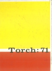 1971 Edition, Edison High School - Torch Yearbook (Tulsa, OK)