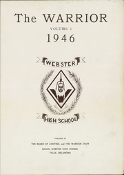 Page 3, 1946 Edition, Daniel Webster High School - Warrior Yearbook (Tulsa, OK) online yearbook collection