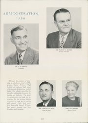 Page 17, 1950 Edition, Daniel Webster High School - Warrior Yearbook (Tulsa, OK) online yearbook collection