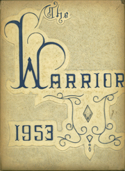 Daniel Webster High School - Warrior Yearbook (Tulsa, OK) online yearbook collection, 1953 Edition, Page 1