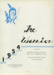 Page 7, 1954 Edition, Daniel Webster High School - Warrior Yearbook (Tulsa, OK) online yearbook collection
