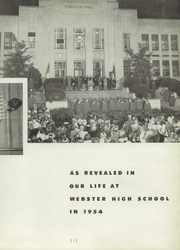 Page 9, 1954 Edition, Daniel Webster High School - Warrior Yearbook (Tulsa, OK) online yearbook collection