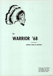 Page 5, 1968 Edition, Daniel Webster High School - Warrior Yearbook (Tulsa, OK) online yearbook collection