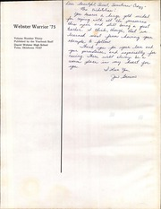 Page 4, 1975 Edition, Daniel Webster High School - Warrior Yearbook (Tulsa, OK) online yearbook collection