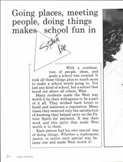 Page 10, 1984 Edition, Putnam City West High School - Patriot Profile Yearbook (Oklahoma City, OK) online yearbook collection