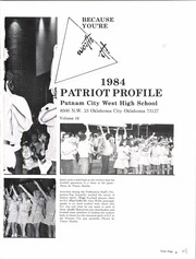 Page 5, 1984 Edition, Putnam City West High School - Patriot Profile Yearbook (Oklahoma City, OK) online yearbook collection
