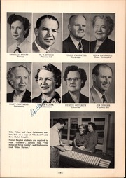 Page 13, 1953 Edition, Classen High School - Orbit Yearbook (Oklahoma City, OK) online yearbook collection