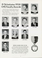 Page 13, 1959 Edition, Classen High School - Orbit Yearbook (Oklahoma City, OK) online yearbook collection