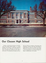 Page 9, 1959 Edition, Classen High School - Orbit Yearbook (Oklahoma City, OK) online yearbook collection