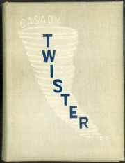 1955 Edition, Casady School - Twister Yearbook (Oklahoma City, OK)