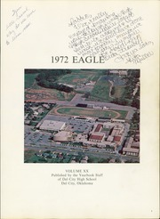 Page 5, 1972 Edition, Del City High School - Eagle Yearbook (Del City, OK) online yearbook collection