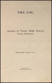 Page 7, 1911 Edition, Vinita High School - Hornet Yearbook (Vinita, OK) online yearbook collection