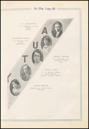 Page 13, 1926 Edition, Vinita High School - Hornet Yearbook (Vinita, OK) online yearbook collection