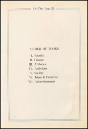 Page 9, 1926 Edition, Vinita High School - Hornet Yearbook (Vinita, OK) online yearbook collection