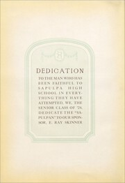 Page 10, 1924 Edition, Sapulpa High School - Sapulphan Yearbook (Sapulpa, OK) online yearbook collection