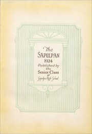 Page 7, 1924 Edition, Sapulpa High School - Sapulphan Yearbook (Sapulpa, OK) online yearbook collection