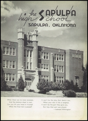 Page 11, 1952 Edition, Sapulpa High School - Sapulphan Yearbook (Sapulpa, OK) online yearbook collection