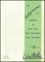 Page 5, 1957 Edition, Grove High School - Ridge Runner Yearbook (Grove, OK) online yearbook collection