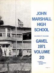 Page 7, 1971 Edition, John Marshall High School - Gavel Yearbook (Oklahoma City, OK) online yearbook collection