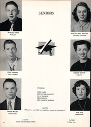 Page 12, 1953 Edition, Claremore High School - Zebra Yearbook (Claremore, OK) online yearbook collection