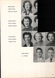 Page 17, 1953 Edition, Claremore High School - Zebra Yearbook (Claremore, OK) online yearbook collection
