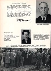 Page 8, 1953 Edition, Claremore High School - Zebra Yearbook (Claremore, OK) online yearbook collection
