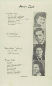 Page 17, 1945 Edition, Guymon High School - El Tigre Yearbook (Guymon, OK) online yearbook collection