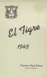 Page 3, 1945 Edition, Guymon High School - El Tigre Yearbook (Guymon, OK) online yearbook collection