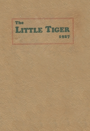 1927 Edition, Wewoka High School - Tiger Yearbook (Wewoka, OK)