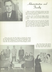 Page 10, 1953 Edition, Wewoka High School - Tiger Yearbook (Wewoka, OK) online yearbook collection