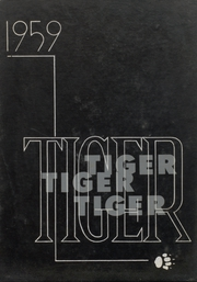 1959 Edition, Wewoka High School - Tiger Yearbook (Wewoka, OK)