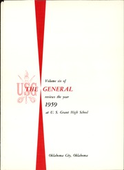 Page 5, 1959 Edition, U S Grant High School - General Yearbook (Oklahoma City, OK) online yearbook collection